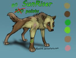 SunRiser Adoptable :Open: by LikelyLupine