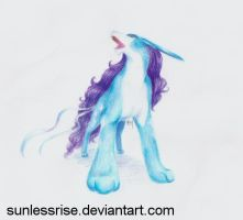 Suicune - Colored by SunlessRise