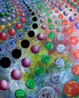 Circles and Spheres by jfkpaint