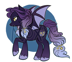 SOLD: Bat Pony! by NoxxPlush