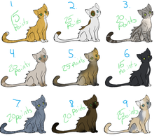 Cat adopts by DragonicWhispers