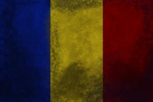 Old and Worn: Romanian flag by tattoartist9