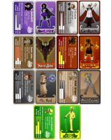 The Cards by AstroHelix