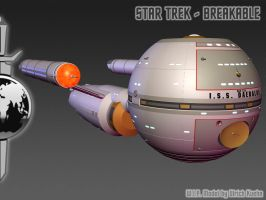 I.S.S. DAEDALUS for STAR TREK - BREAKABLE ISO-01 by ulimann644