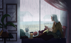 Rainy Days by Kikiine
