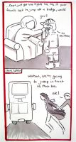 BBC Sherlock comic: bit too loyal by Graphitekind