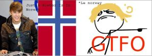 Justin Bieber In Norway RageComic by Sarah-Rika
