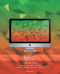 Mango (Low Poly) [Wallpaper Pack] by error-23