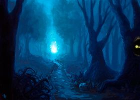 Magic forest by Wirraaa