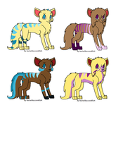Puppy adoptables no points by Akatsuki-wolf-97