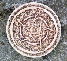 Lakshimi Mehandi Pentacle by parizadhe