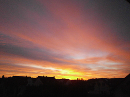 Sunset in Germany by iBoy98