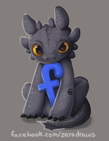Toothless Likes me on Facebook by ZaraAlfonso