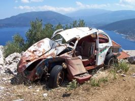 Dead Car by Korpsus