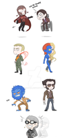X-men dofp: Teeny Mutants by DarkLitria