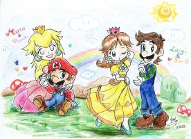 Mario: Couples? by saiiko