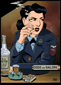 Lylah Rosenkrantz - Dogs and Sailors by S-Forester