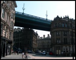 Newcastle... Under the bridge by Princess-Amy