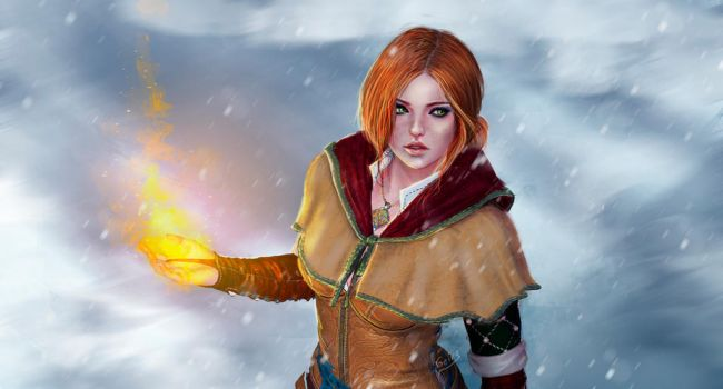 Sparks in the snow by Geirahod