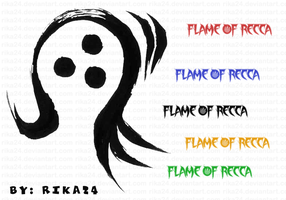 Flame of Recca Brushes by Rika24