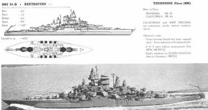 Technical Drawings: USS California by bwan69