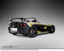 Lotus 2 Eleven Vectored by hoodaya