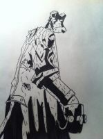 Hellboy by TheReaper111