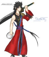young Auron by screensurfer