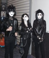 Black Veil Brides cosplay by GothicLionheart