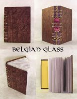 belgian glass - blank book by yatsu