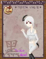::Pokimono:: Tsukio the Absol by HeartLessWolfGirl