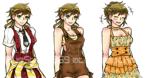 VN Sprites: happy-go-lucky glutton by BlueStorm-Studio