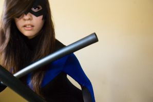 Nightwing cosplay by surfingthevoiid