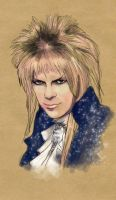 Portrait of a Goblin King by dreamingSarah