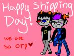 .::Happy Shipping Day::. by Co-beakling1