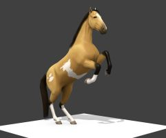 Horse Preview Rear by TerrifyingLint