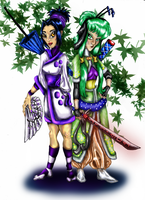 Sen and Wisenen Colored by Eviecats