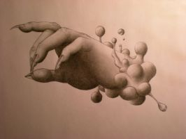 Hand wip 2 a little surreal by reupzig