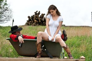 Red neck couple stock 18 by Random-Acts-Stock