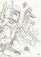 boba fett supercomms-pencils by UGCcomics