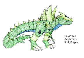 Contest: Tyranitar Origin Form by FawkesTheSkarmory