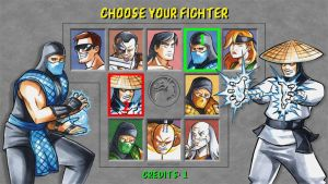 Choose Your Fighter by snow-j