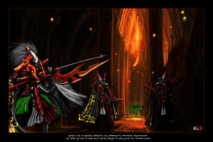 Eldar Reapers by Addinarr