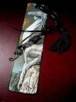 Dragon Crystal Bookmark Charm by Starlit-Sorceress