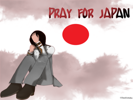 PRAY FOR JAPAN by DaniEchidna