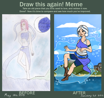 Before and After meme by Electrosion