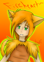 A huminized Fireheart by DarkLordIvy