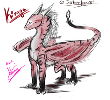 Sketch trade :3 .:Kiraga:. by Noamon