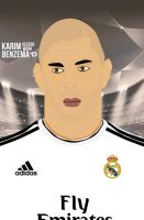 Benzema Vector Work by bluezest1997