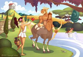 Centaurs Don't Like Apples by GeorgeSellas